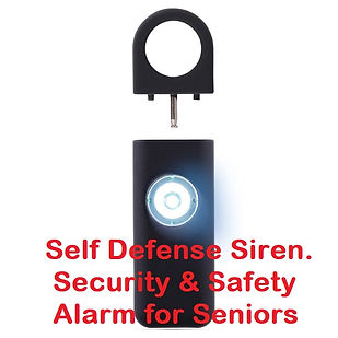 Safe Personal Alarm for Women with pin.j