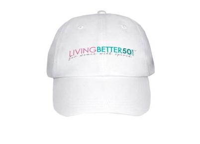 LivingBetter50 Cap - One Size