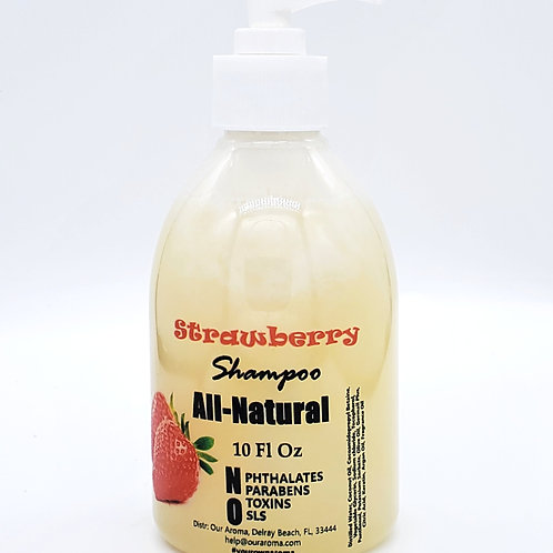 Our Aroma Strawberry Ltd Edition All Natural Shampoo with Keratin & Ar