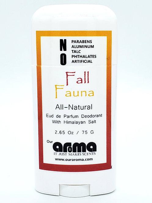 Our Aroma Fall Fauna 2.5 Oz All-Natural Deodorant