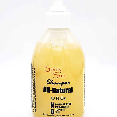 Our Aroma Spicy Son All Natural Shampoo with Keratin & Argan Oil