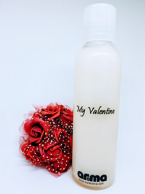 Valentine Women's Red Rose 16 Oz Body Lotion