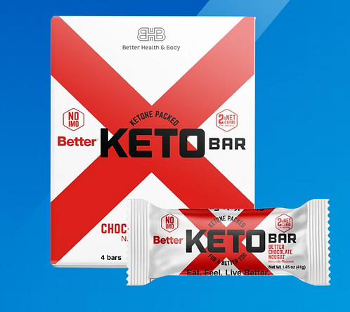 Keto Protein Bars - 12 Pack