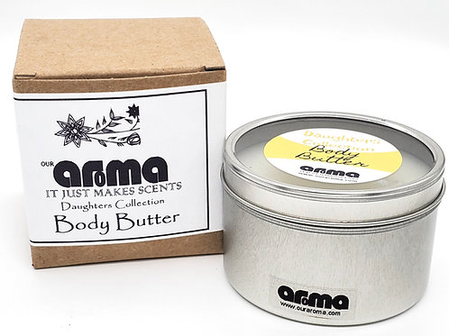 Our Aroma Daughters Collection Body Butter 8 Oz