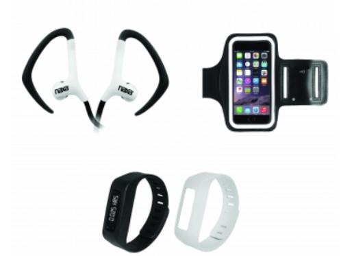 NAXA Electronics NE-946 Three-in-One Bluetooth Fitness Combo