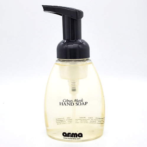 Aroma Citrus Musk Foaming Hand Soap 8 Oz