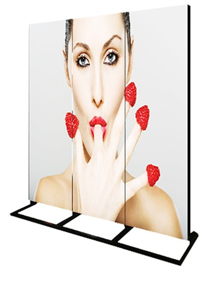Display with 3 LED Portable Screens