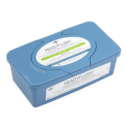 ReadyFlush Biodegradable Flushable Wipes - Tub of 60