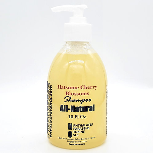 Our Aroma All-Natural Hatsume Cherry Blossoms Shampoo