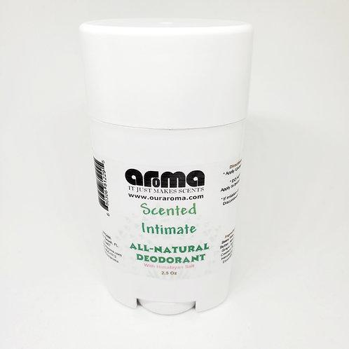 Aroma Men/ Women's Intimate 2.5 Oz All-Natural Scented Deodorant