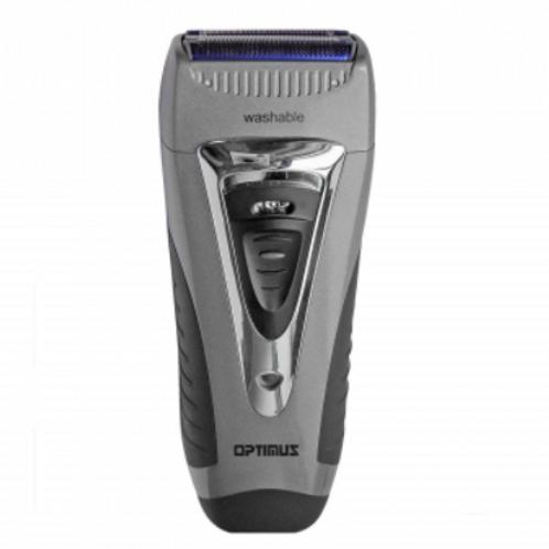 Optimus Curve Rechargeable Triple Wet/dry Men's Shaver, Black/silver