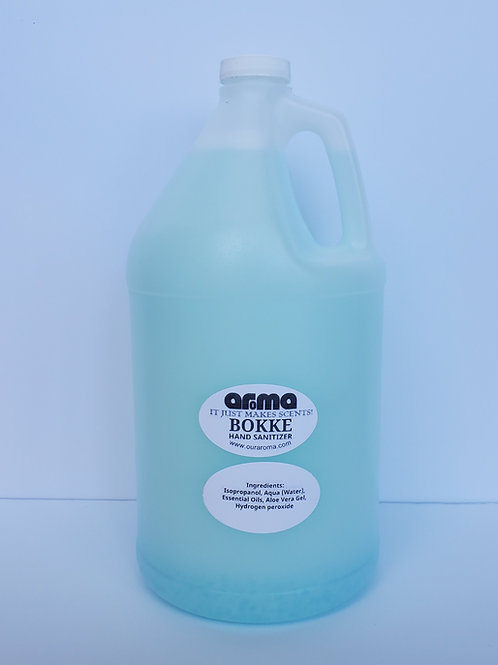 Aroma Bokke Hand Sanitizer 1 Gallon Bottle