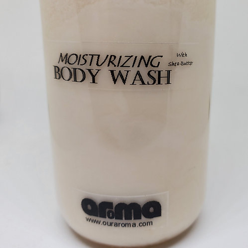 Aroma Moisturizing 8Oz Body Wash with Shea-Butter