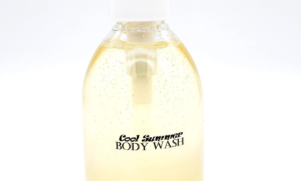 Aroma Cool Summer All-Natural Body Wash with Shea-Butter 10Oz