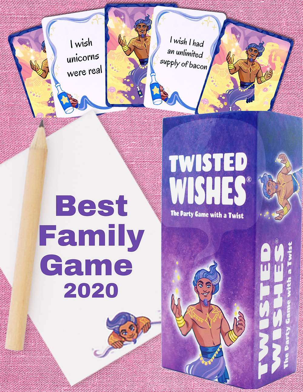 Twisted wishes family game