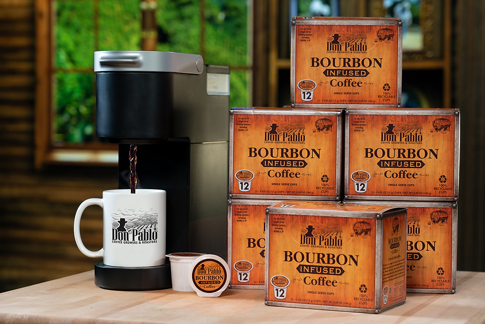 Don Pablo bourbon infused coffee  makes the perfect gift
