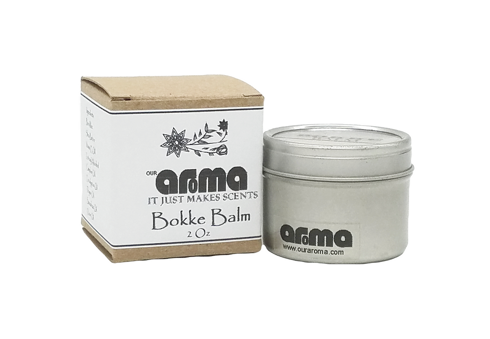 Aroma Bokke Balm is a great healing balm for your skin