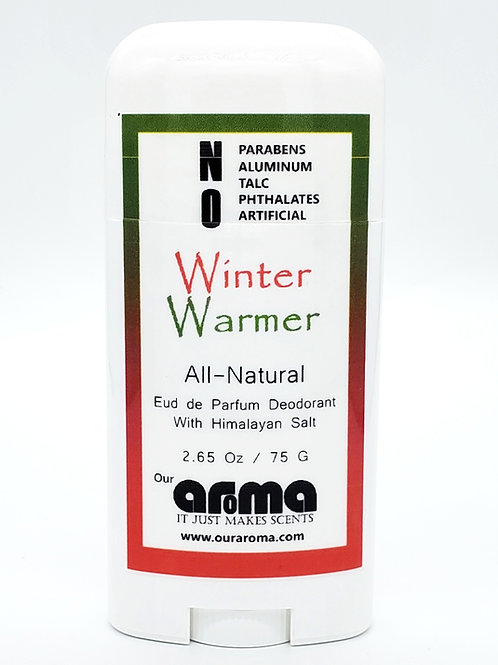 Our Aroma Winter Warmer 2.5 Oz All-Natural Deodorant