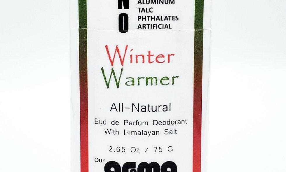 Aroma Winter Warmer 2.5 Oz All-Natural Deodorant