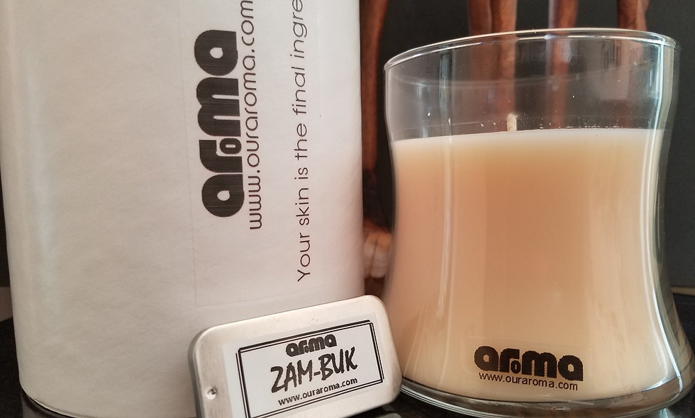Aroma Bokke Breathe 12 Oz Candle