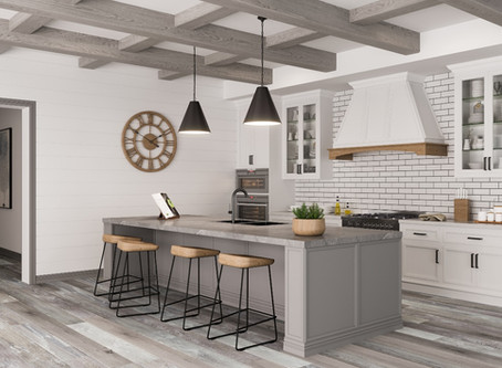 New Rustic Wood Beams For Every Room in the Home