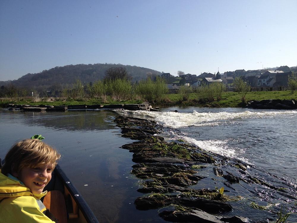 de dam bij Cugnon