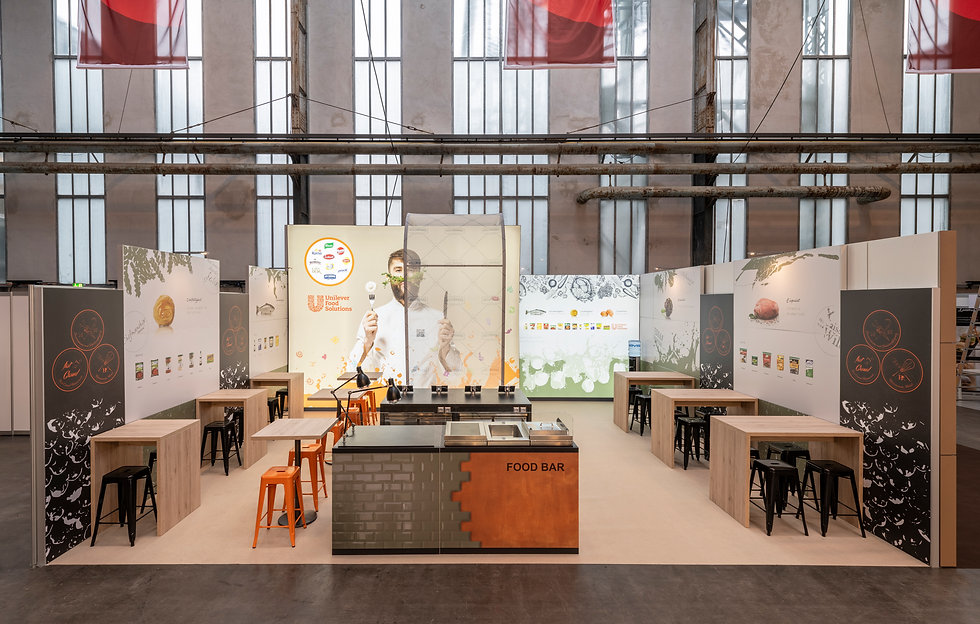 Unilever Food Solutions Messestand