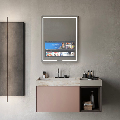 Vision, Smart LED Lighted Mirror 24in x 32in x 1in