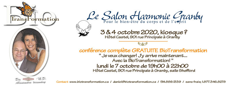 Facebook Salon Harmonie, Granby octobre