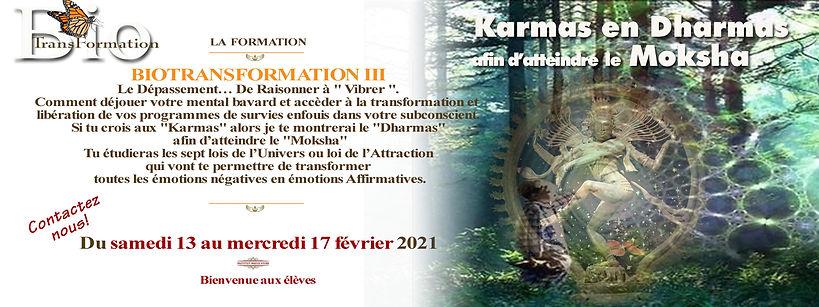 Facebook  La  formation  B.T. III du 13