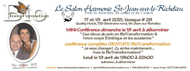 Facebook Salon Harmonie, St-Jean avril