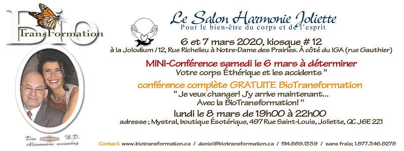 Facebook Salon Harmonie, Joliette mars 2