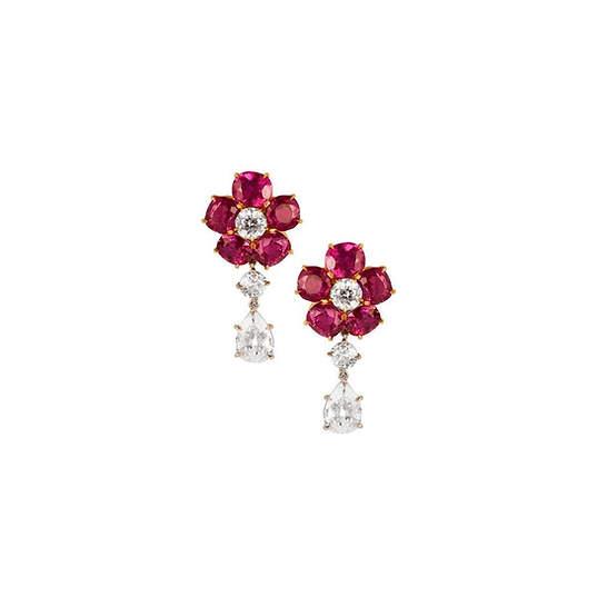 Ruby Earrings | ルビーイヤリング
