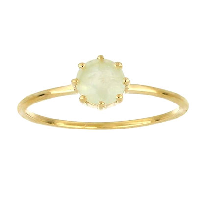 Moonstone 14K Gold Ring