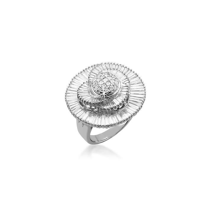 Invisible Setting Baguette Diamond Ring|インビジブルセッティングダイヤモンドリング