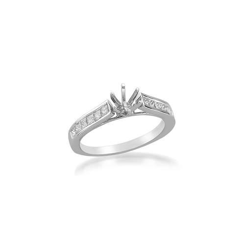 Diamond Gold Semi-Mount Ring|ダイヤモンドセミマウントリング