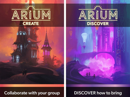 Announcing Arium RPG on Kickstarter!