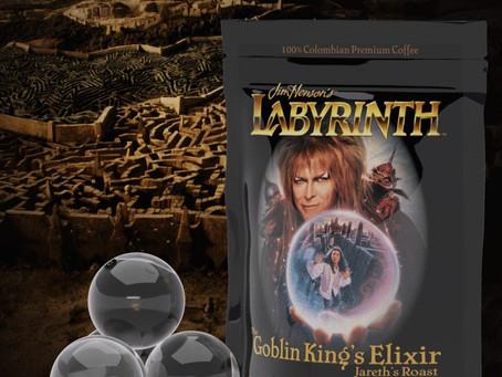 Giveaway Time! Announcing Geek Grind Coffee's New Goblin King Elixir!