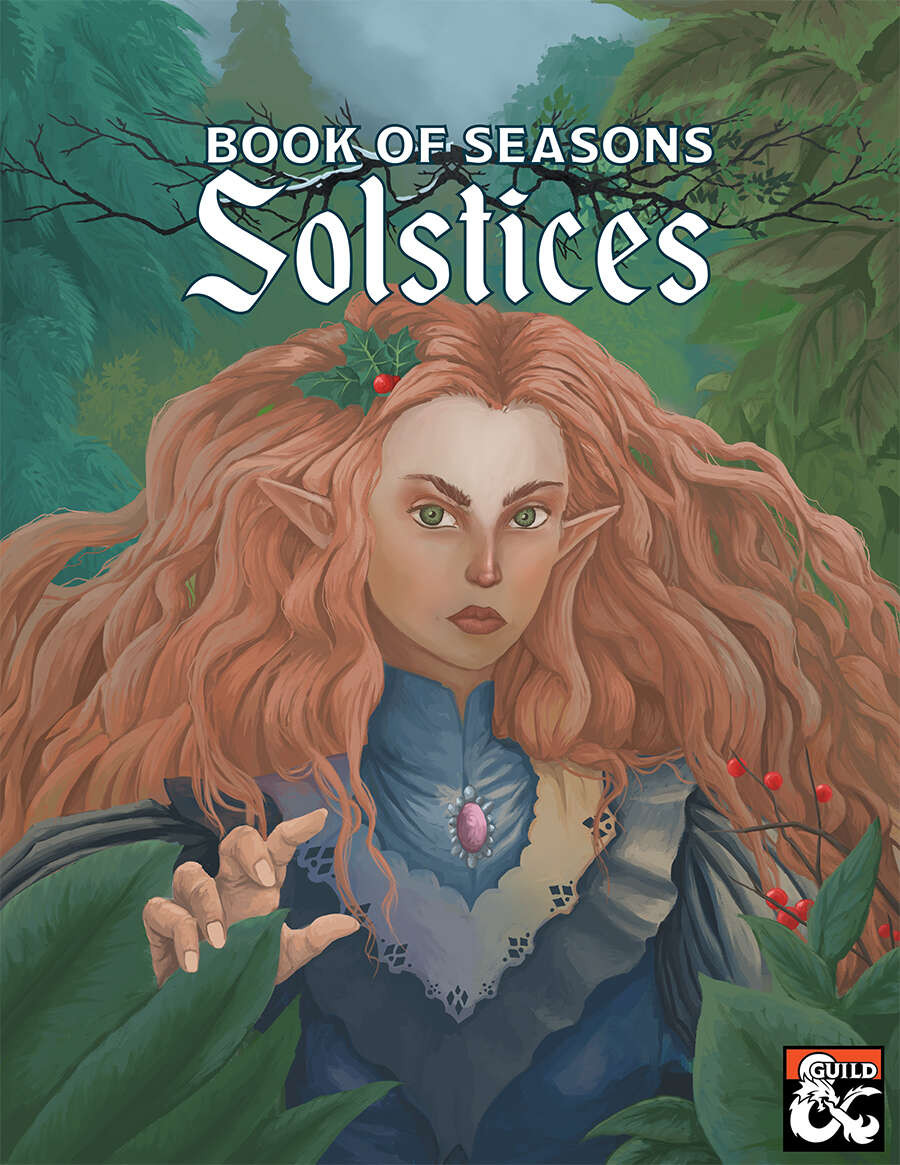 Cover art for Book of Seasons: Solstices