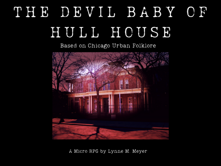 New Release: The Devil Baby of Hull House on Itch.io