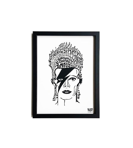 BOWIE POSTER