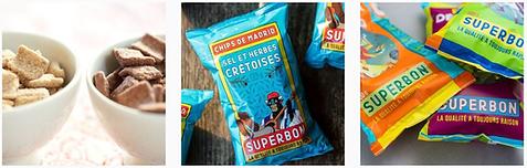 Secrets d'Epiciers Fournisseur Epicerie Fine Chips et Céréales