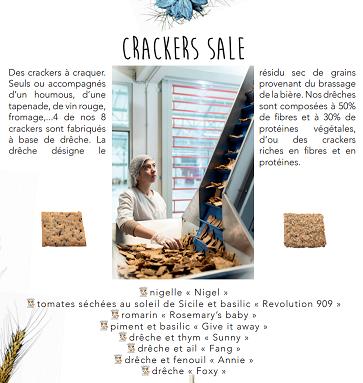 Secrets d'Epiciers Fournisseur Epicerie Fine Premium Crackers Biscuits Biologiques