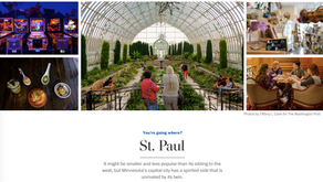 """One of the many """"Things to do in St. Paul"""" according to The Washington Post? Tongue in Cheek!"""