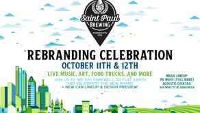 Saint Paul Brewing Rebranding Celebration