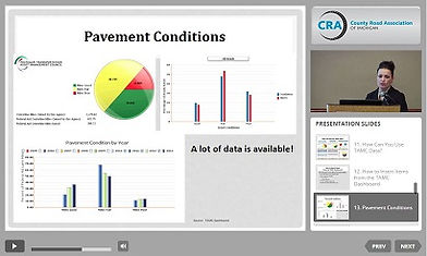 Using road condition data to enhance your message and boost road funding