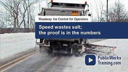 Online Training for Salt Spreading