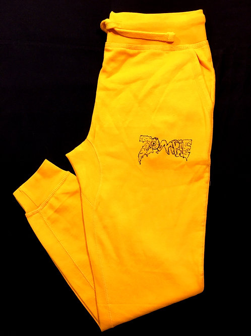 Gold Zombie Joggers