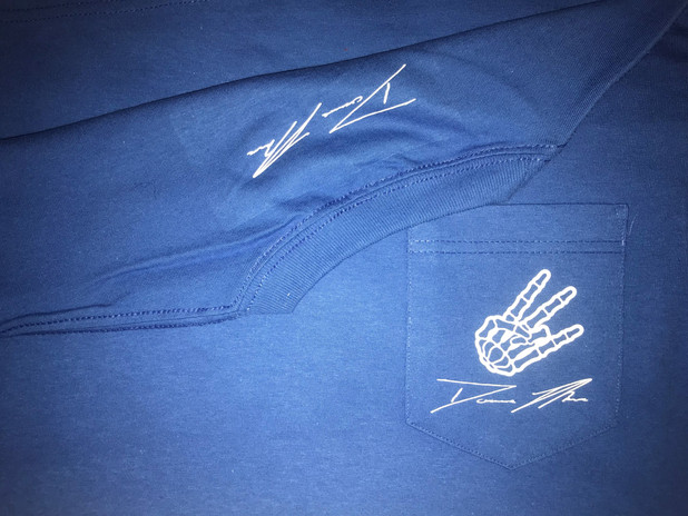 Blue ZBG East Side Shirt