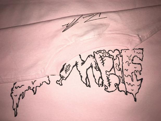 Pink Zombie CropTop